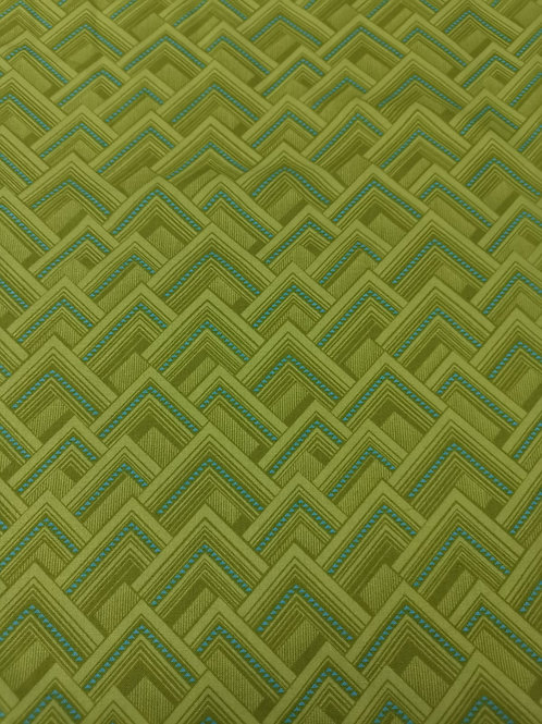 Amy butler Quilting Cotton - Geometric Print - Lime Green