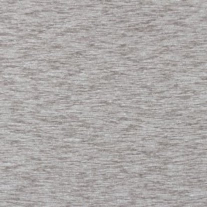 Dress Fabric - Textured Slub Linen Jersey - Mid Grey