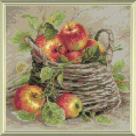 Diamond Mosaic - Riolis Collection - Ripe Apples
