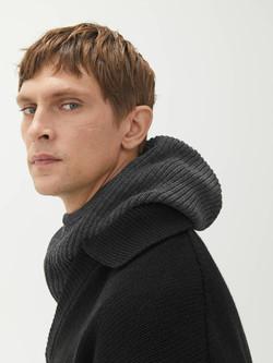 Mens Wool Hood