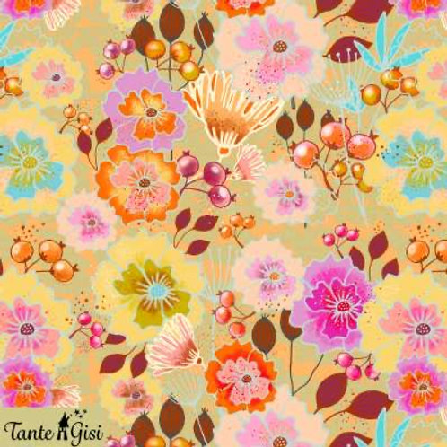 Lillestoff - Organic Cotton Jersey - Floral Print - Multi