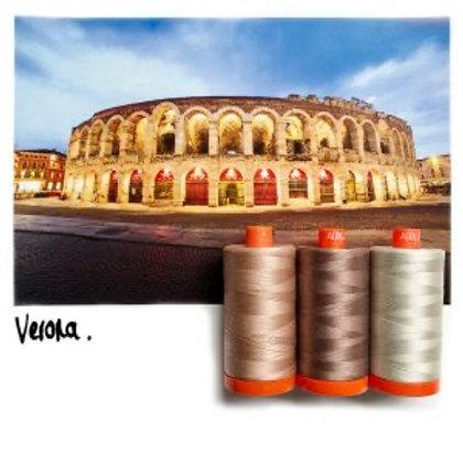 Aurifil - Colour Builders Thread Collection - Verona - mauve