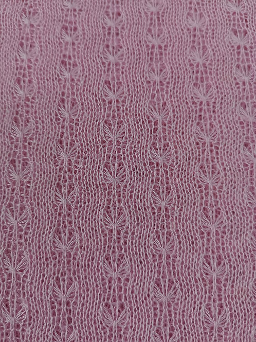Dress Fabrics - Cotton Pointenelle Fabric - Pale Baby Pink