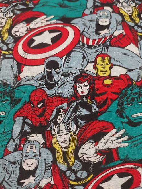 Quilting Cotton - Marvel Super Hero Print - Multi