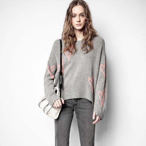 Zadig_VoltaireMarkusCHeartSweater-Gris_1