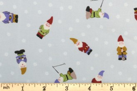 Lewis And Irene - Grandma's Garden - Gnomes - Pale Grey - A199.2