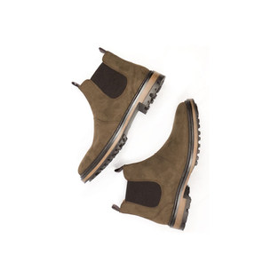 continental-chelsea-boots-dark-brown-new