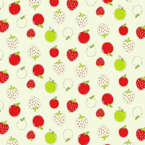 Quilting Cotton - Nutex - Country Lane - 80140 - 103 - Fruit Print