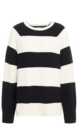 DKNY Striped Knit