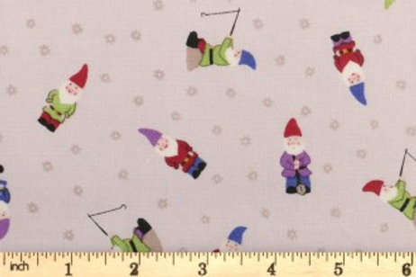 Lewis And Irene - Grandma's Garden - Gnomes - Natural - A199.3
