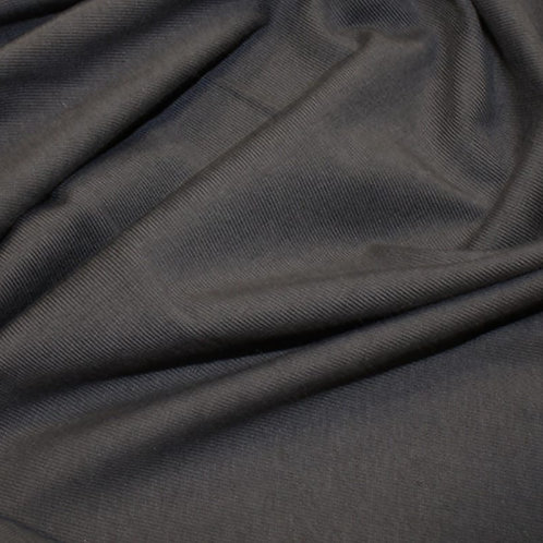 Organic Cotton Jersey - Charcoal Grey