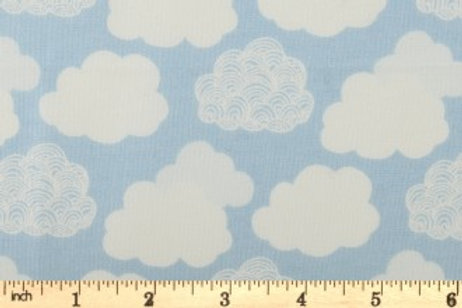 Liberty London - Adventures In The Sky - Cloud Cover Blue  - 04775642X