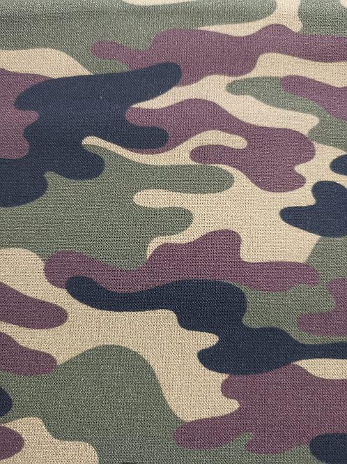 Quilting Cotton - Camoflage Print - Multi