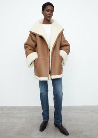 Toteme Shearling Coat