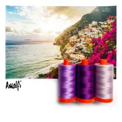 Aurifil - Colour Builders Thread Collection - Amalfi - Purples