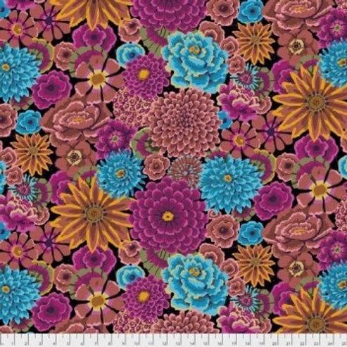 Free Spirit - Kaffe Fassett - Floral Print - Pink And Multi (125PWGP172DARKX)
