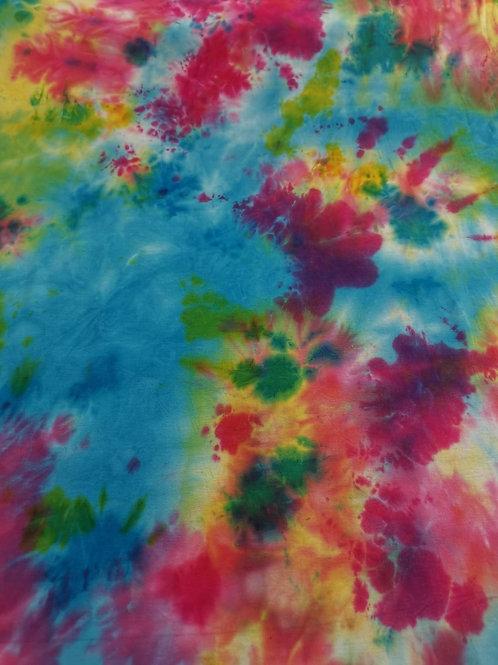 Cotton Jersey - Tie Dye Print - Multi