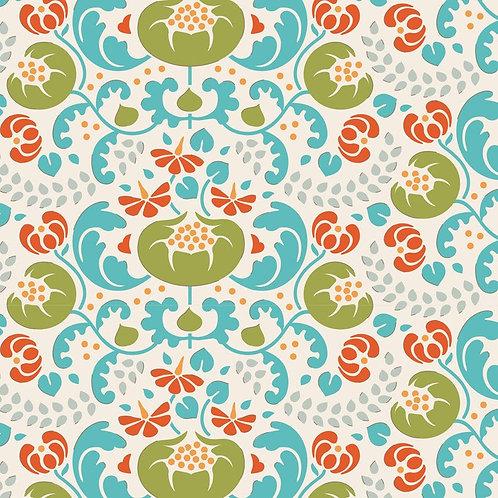 Quilting Cotton - Tilda - Lazy Days - Mildred Green - 100179