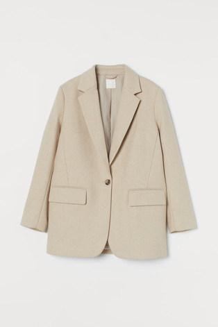 H & M Cream Blazer