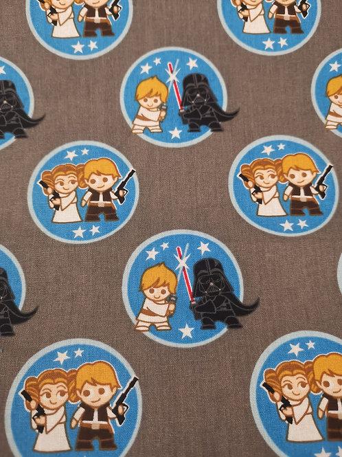 Quilting Cotton - Star Wars Print -