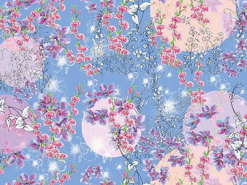 Lillestoff - Organic Cotton Jersey - Sommersonate Print