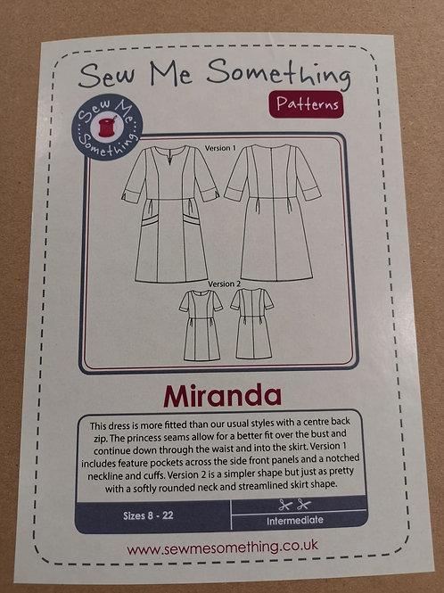 Sew Me Something - Miranda Dress (Sizes 8 - 22)