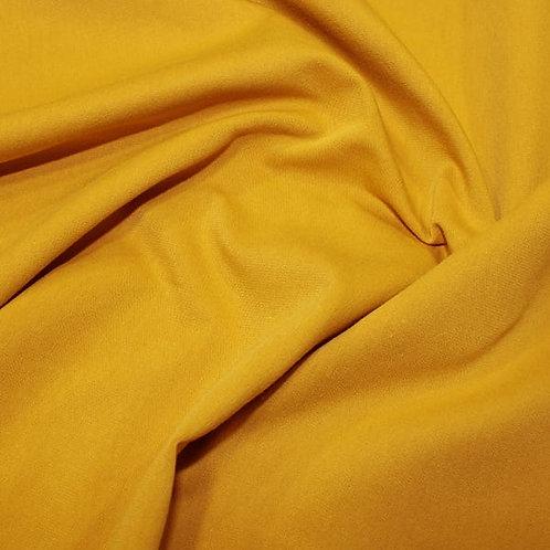 Organic Cotton Jersey - Ochre Yellow