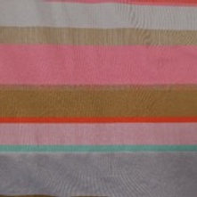Lillestoff - Organic Cotton - Striped - Pink And Gold