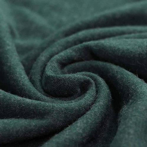 Dress Fabric - Angora Look Knit - Forest Green
