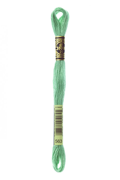 Stranded Cotton Hand Embroidery Thread (117) - Colour 563
