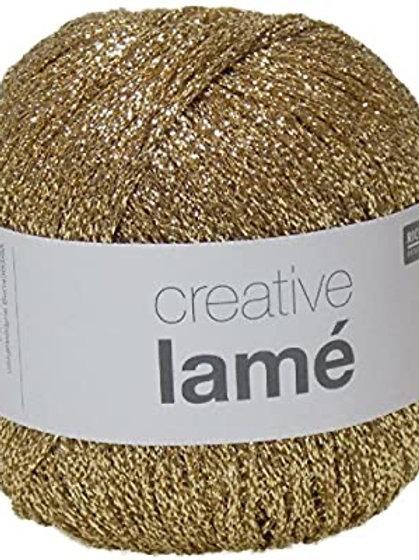 Rico - Creative Lamé Yarn - Gold
