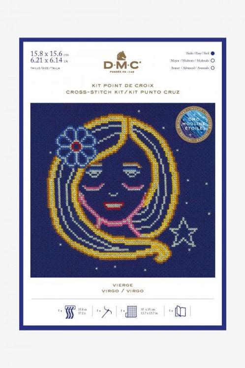 Cross Stitch Kit -  DMC - Virgo