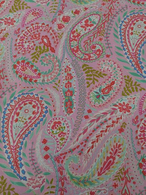 Free Spirit dena designs quilting Cotton - Pale Pink And Multi
