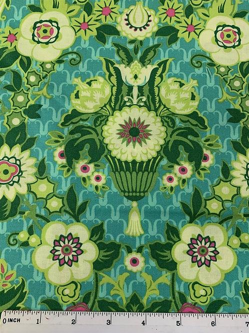 Free Spirit -  Amy Butler - Violette - Garden Fete - Green - PWAB136