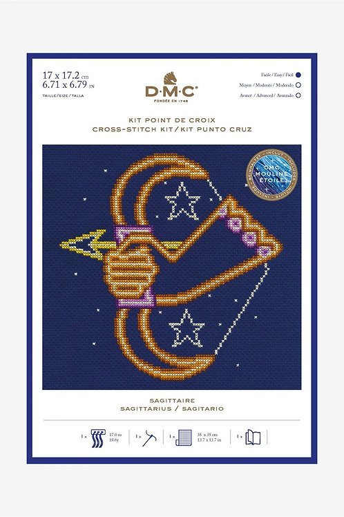 Cross Stitch Kit -  DMC - Sagittarius