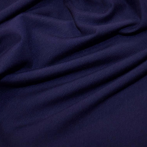 Organic Cotton Jersey - Navy Blue
