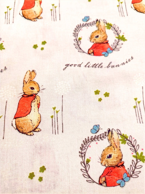 Quilting Cotton - Peter Rabbit Collection - Good Little Bunnies