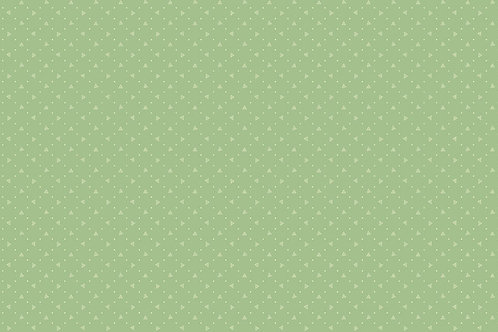 Quilting Cotton - Makower  - Wintermint Green With Small Dot 8704/G