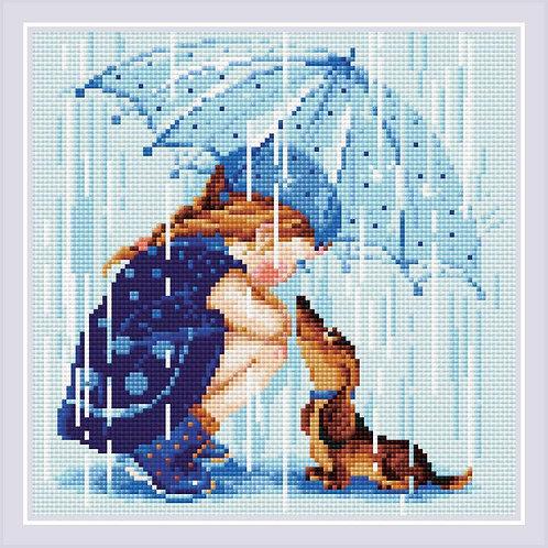 Diamond Mosaic - Riolis Collection - Under My Umbrella