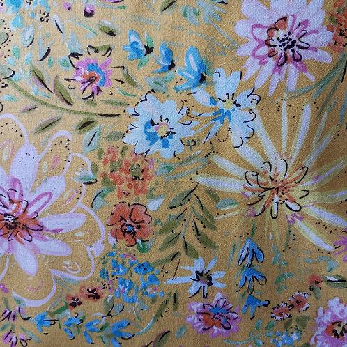 Quilting Cotton - Free Spirit - Dena - Butterfly Garden - Floral