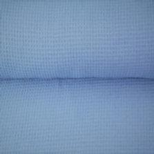 Waffle Cotton - Pale Blue - OC 100/011
