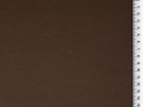 French Terry Fabric - Chocolate Brown