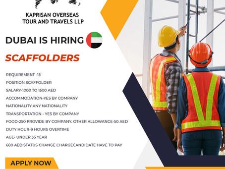 WORK OPPORTUNITIES IN DUBAI