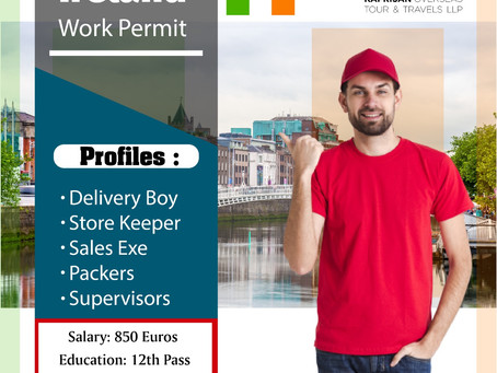 IRELAND WORK PERMIT