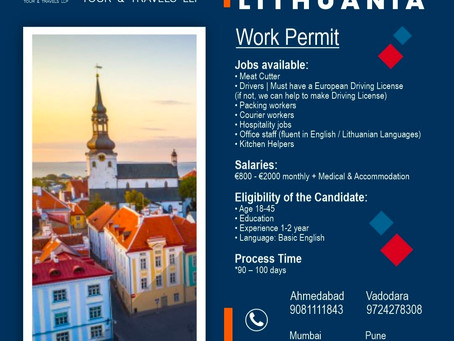 ESTONIA & LITHUANIA IS HIRING