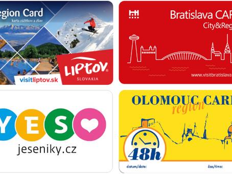 Osvěžte svou nabídku s turistickou kartou