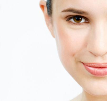 Wrinkle reducing Botox patient