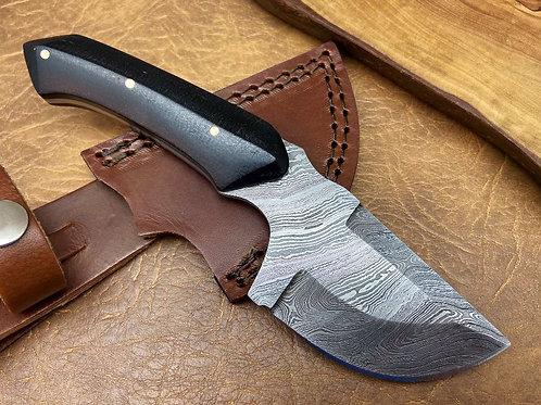 Damascus Hunting Skinner Knife 145