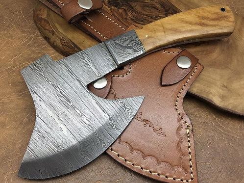 Damascus Steel Ax-X12-O