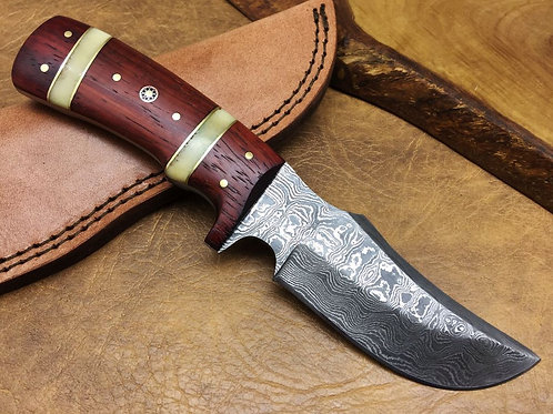 Damascus Hunting Knife H35